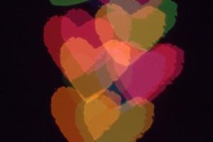 Bokeh Hearts 1