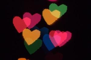 Bokeh Hearts 3