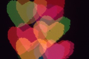 Bokeh Hearts 4