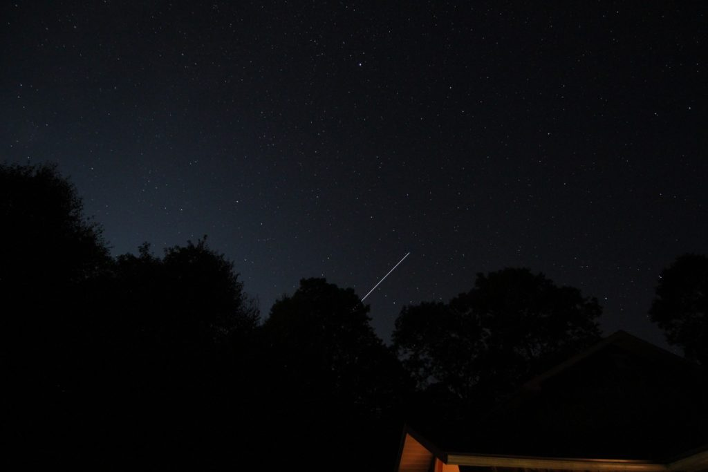 International Space Station Looking West