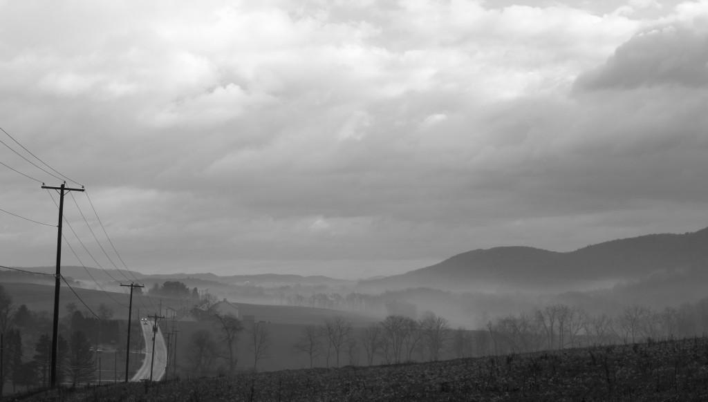 Foggy Mountain Morning